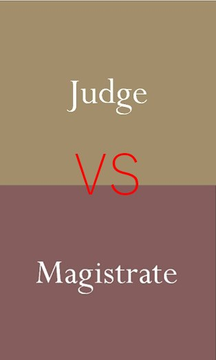 Difference Between Judge And Magistrate In Pakistan