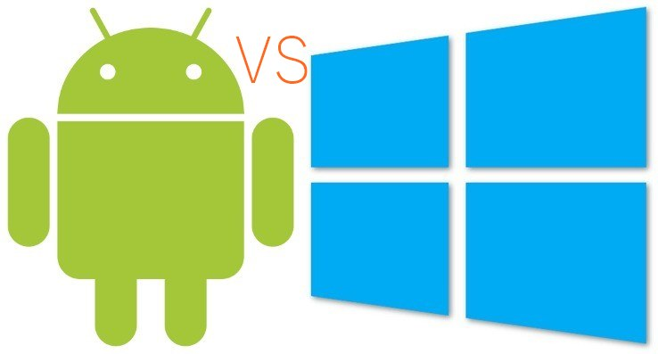 Difference Between Android And Windows Smartphone