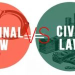 Difference Between Civil And Criminal Law In Pakistan