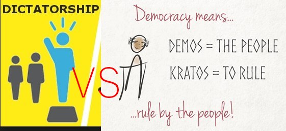 Difference Between Democracy And Dictatorship In Pakistan