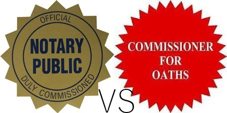 Difference Between Oath Commissioner And Notary Public In Pakistan