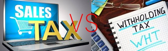 Difference Between Sales Tax And Withholding Tax In Pakistan