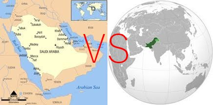 Time Difference Between Pakistan And Saudi Arabia