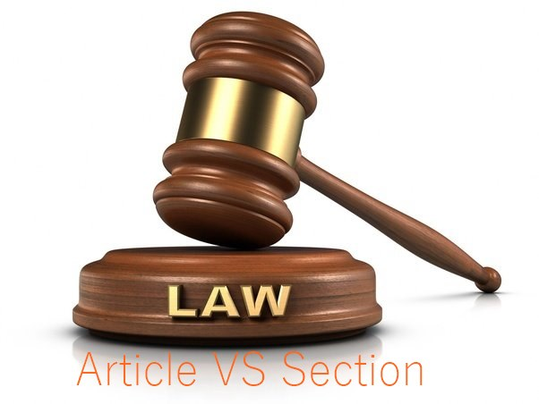 What Is The Difference Between Section And Article In Pakistan