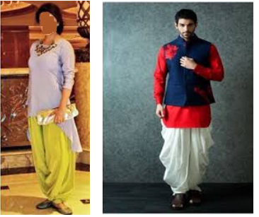 Difference Between Dhoti Salwar And Patiala Salwar