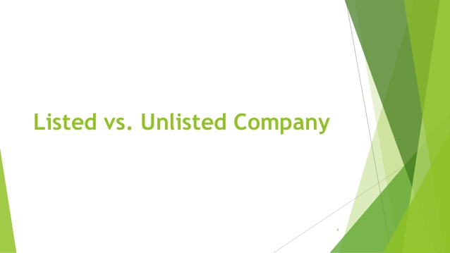 Difference Between Listed And Unlisted Companies In Pakistan