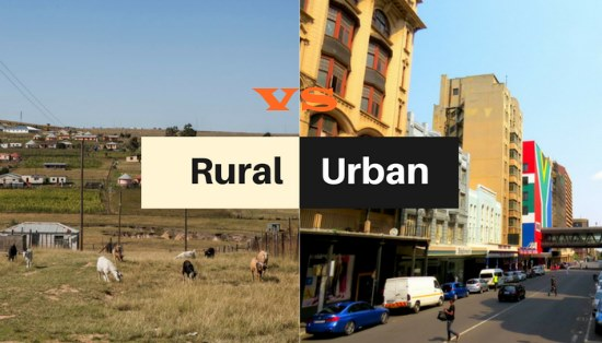 Difference Between Rural And Urban Life In Pakistan