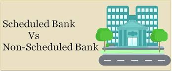 Difference Between Scheduled And Non-Scheduled Banks In Pakistan