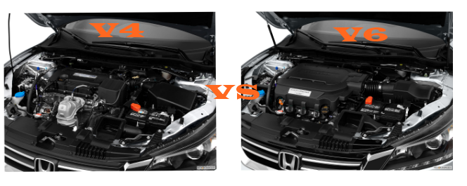 Difference Between 4 Cylinders And 6 Cylinder Engine
