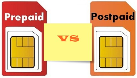 Difference Between Postpaid And Prepaid Sim