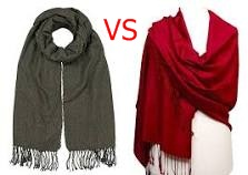 Difference Between Scarf And Shawl