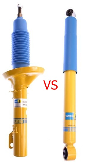 Difference Between Shocks And Struts On A Car