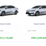 Difference Between Corolla X And Corolla G