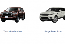 Difference Between Land Cruiser 2019 And Land Rover Range Rover 2019