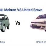 Difference Between Suzuki Mehran And United Bravo