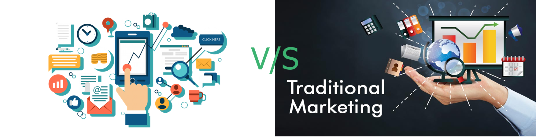 Difference Between Traditional Marketing and Digital Marketing
