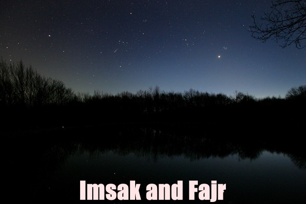 What is the Difference Between Imsak and Fajr